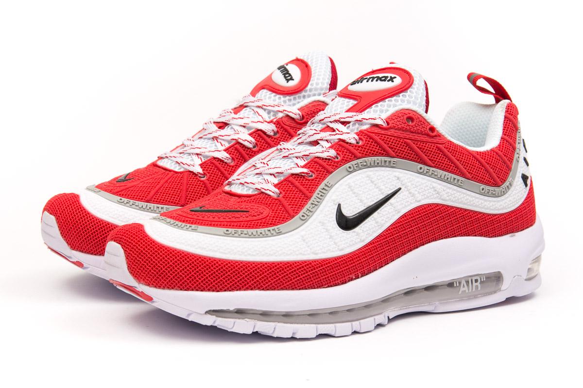 ee72d6c1 Кроссовки Мужские Nike Air Max, Белые Реплика Топ ААА+ — в Категории ...